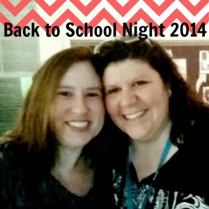Mrs. O'Brien is on the left.  Ms. Haseltine (right) also teachers Language Arts at ERMS.